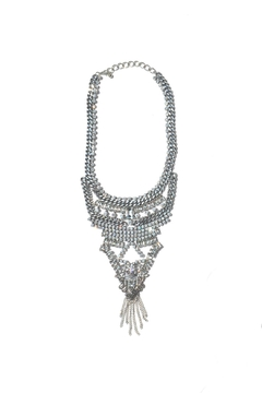 Minx Crystal Statement Necklace - Product List Image