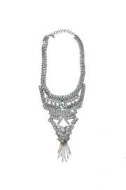Minx Crystal Statement Necklace - Product Mini Image