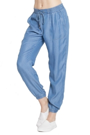 Minx Denim Jogger Pants - Product Mini Image