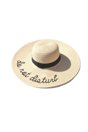 Minx Don't Disturb Hat - Front cropped