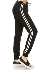 Minx Double Stripe Joggers - Front cropped