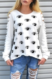 Minx Evil Eye Sweater - Product Mini Image