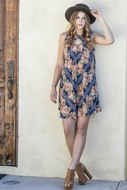 Minx Fall Floral Dress - Product Mini Image