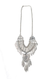 Minx Feather Necklace - Front cropped