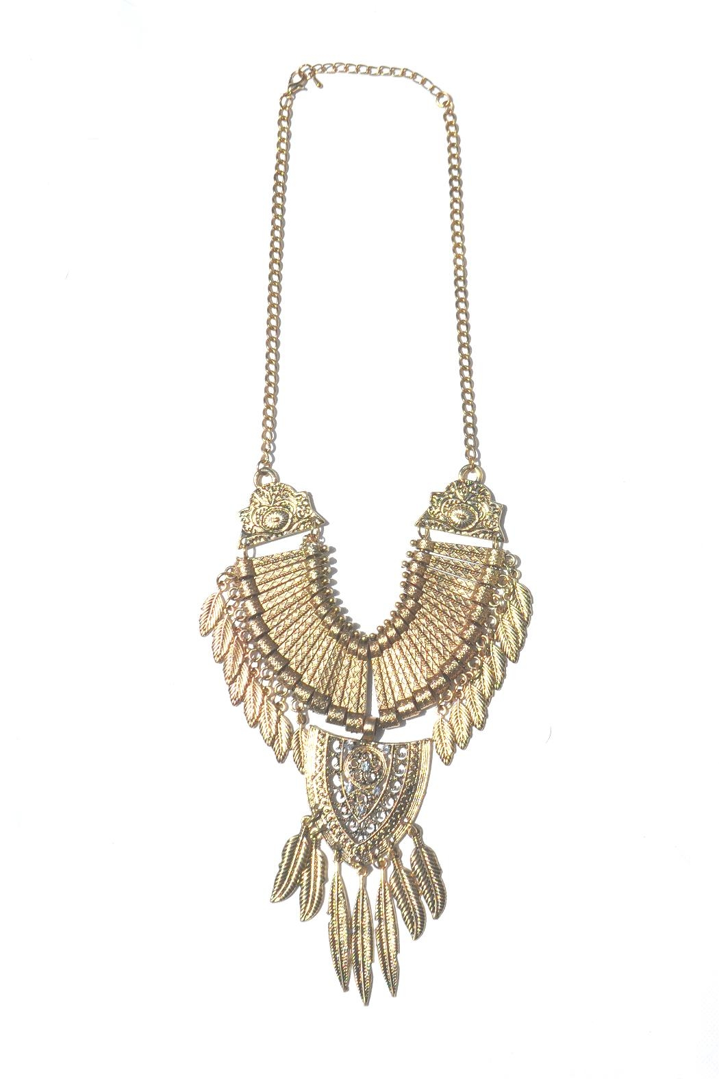 Minx Feather Necklace - Main Image