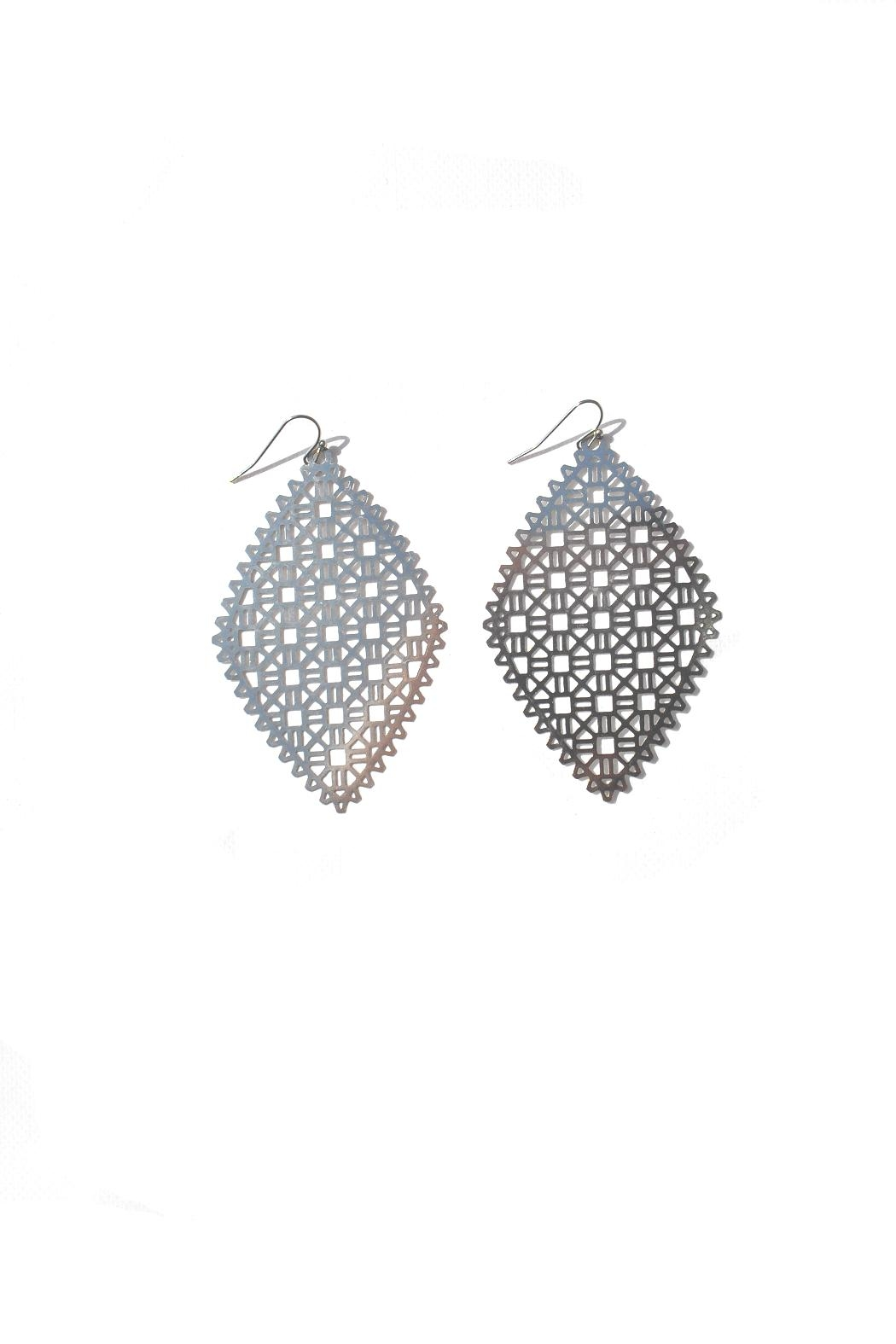 Minx Filigree Earrings - Front Cropped Image