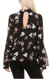 Minx Floral Choker Blouse - Side cropped