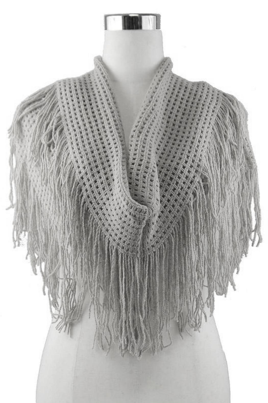 Minx Fringe Infinity Scarf From California By Minx Shoptiques