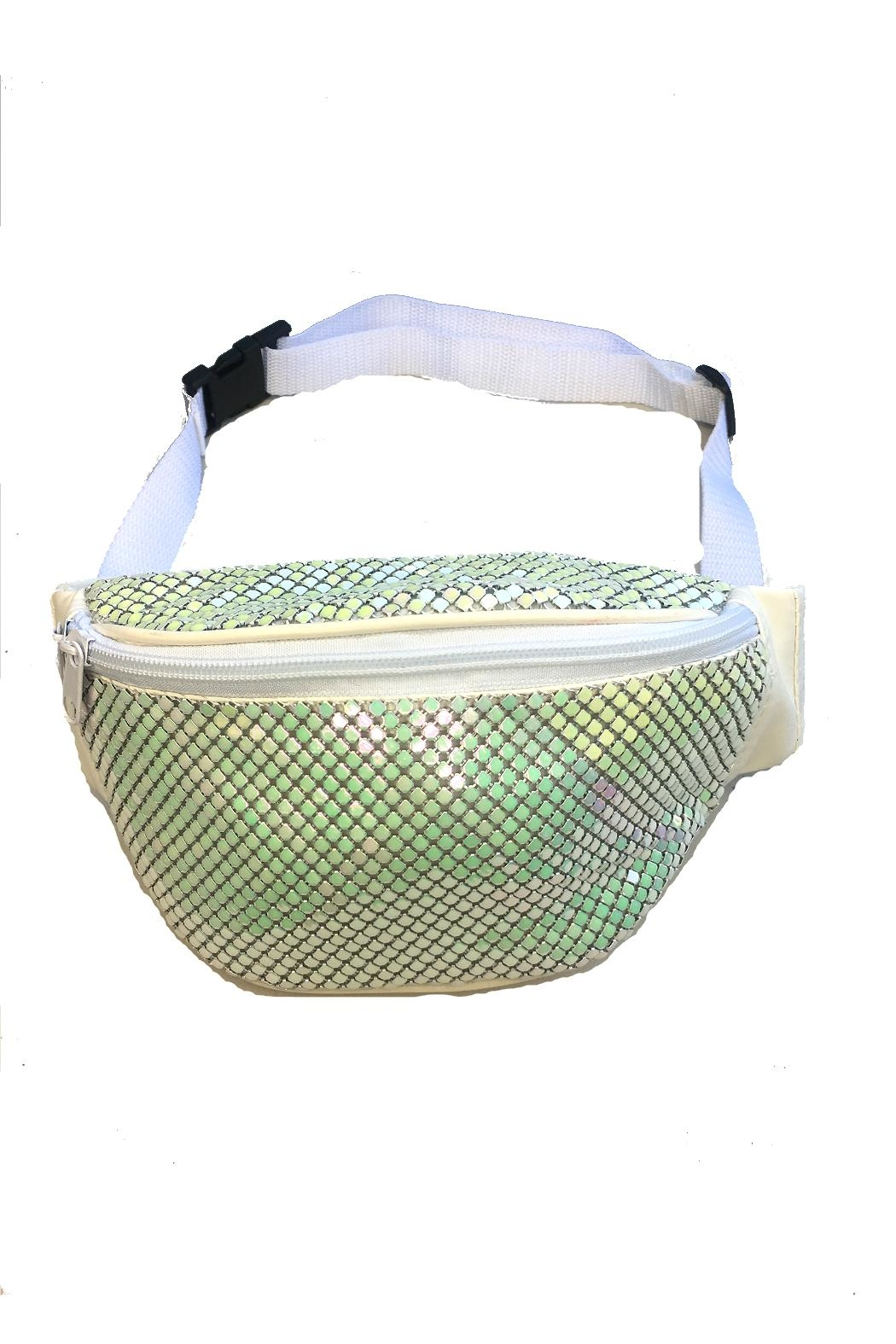 Minx Glitter Fanny Pack - Front Cropped Image