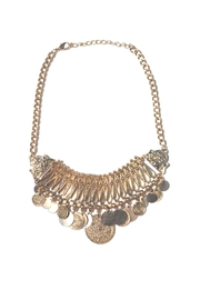 Minx Gold Coin Necklace - Product Mini Image