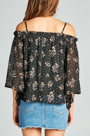 Minx Gold Foil Blouse - Side cropped