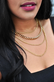 Minx Gold Layered Necklace - Product Mini Image