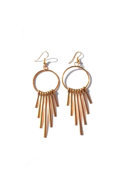 Shoptiques Product: Gold Spike Earrings