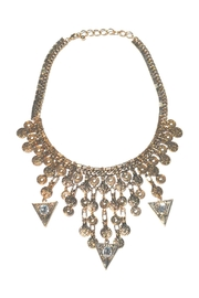 Minx Gold Spike Necklace - Product Mini Image