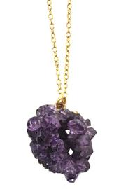 Minx Handmade Amethyst Necklace - Front cropped