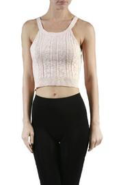 Minx Knit Crop Top - Front cropped