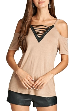 Minx Lace Up Top - Product List Image