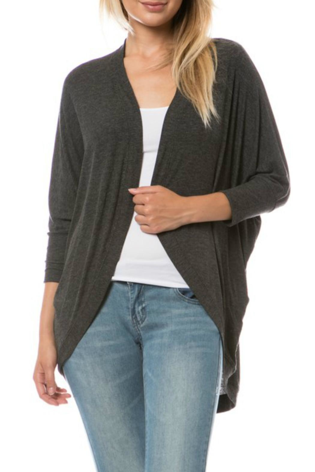 Minx Lightweight Ribbed Shrug from California by MINX — Shoptiques
