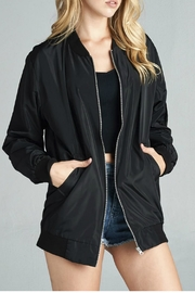 Minx Longline Bomber - Front cropped
