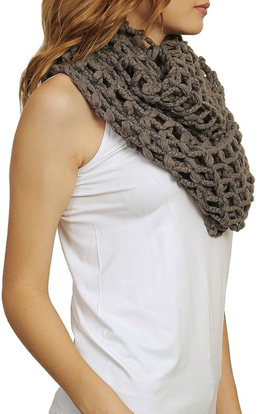 Minx Loops Infinity Scarf - Front Cropped Image