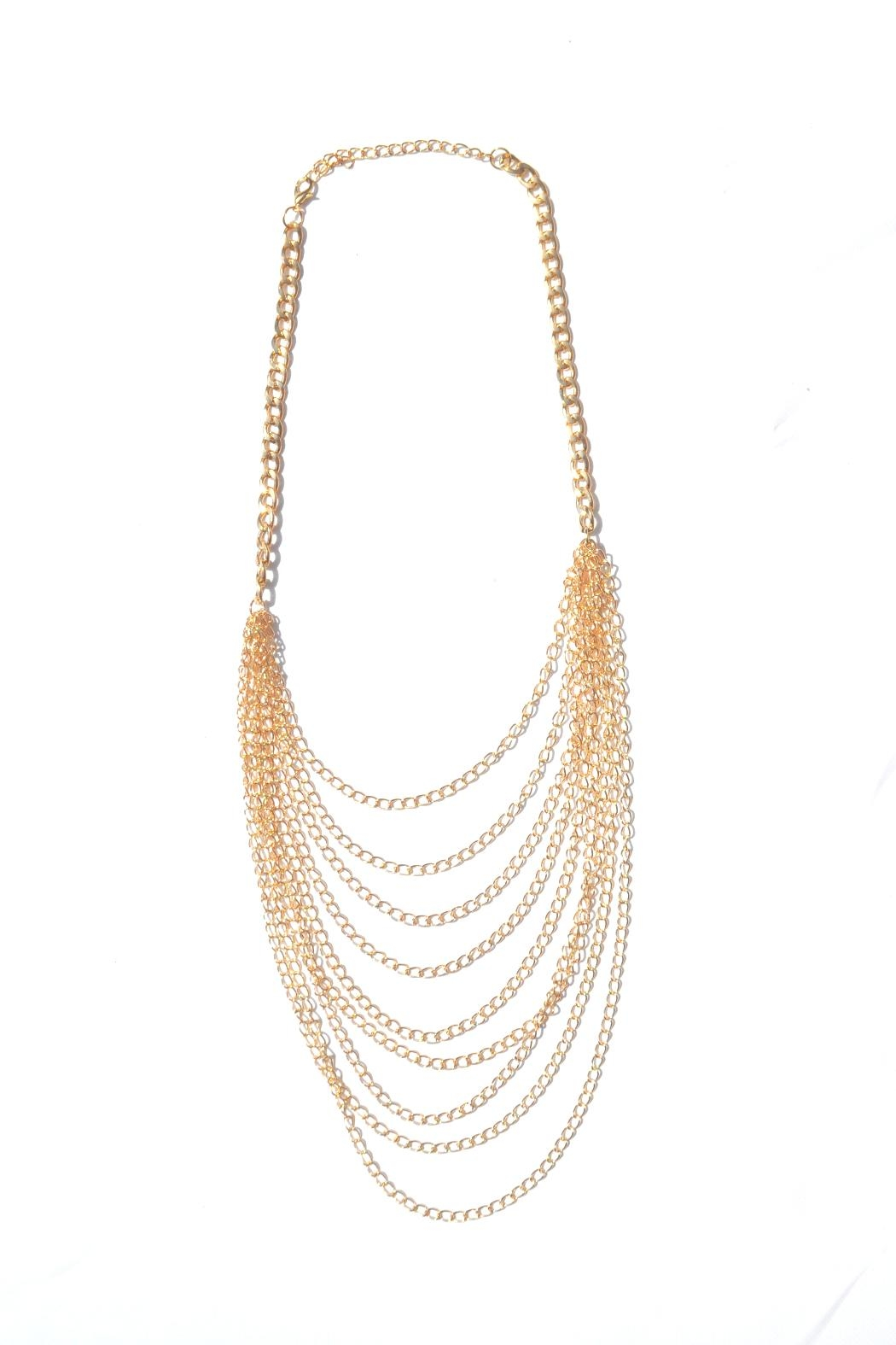 Minx Multi Layered Necklace - Front Cropped Image