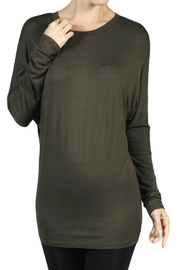 Minx Olive Dolman Shirt - Product Mini Image