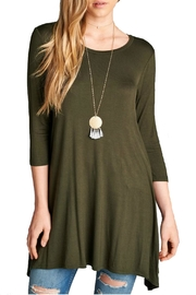 Minx Olive Tunic Dress - Product Mini Image