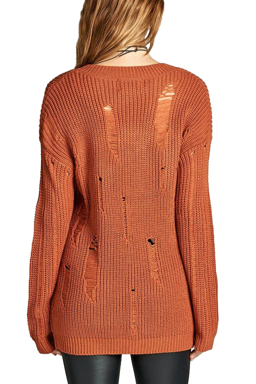 Minx Oversized Knit Sweater from California by MINX — Shoptiques
