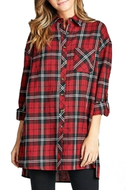 Minx Oversized Red Flannel - Product Mini Image