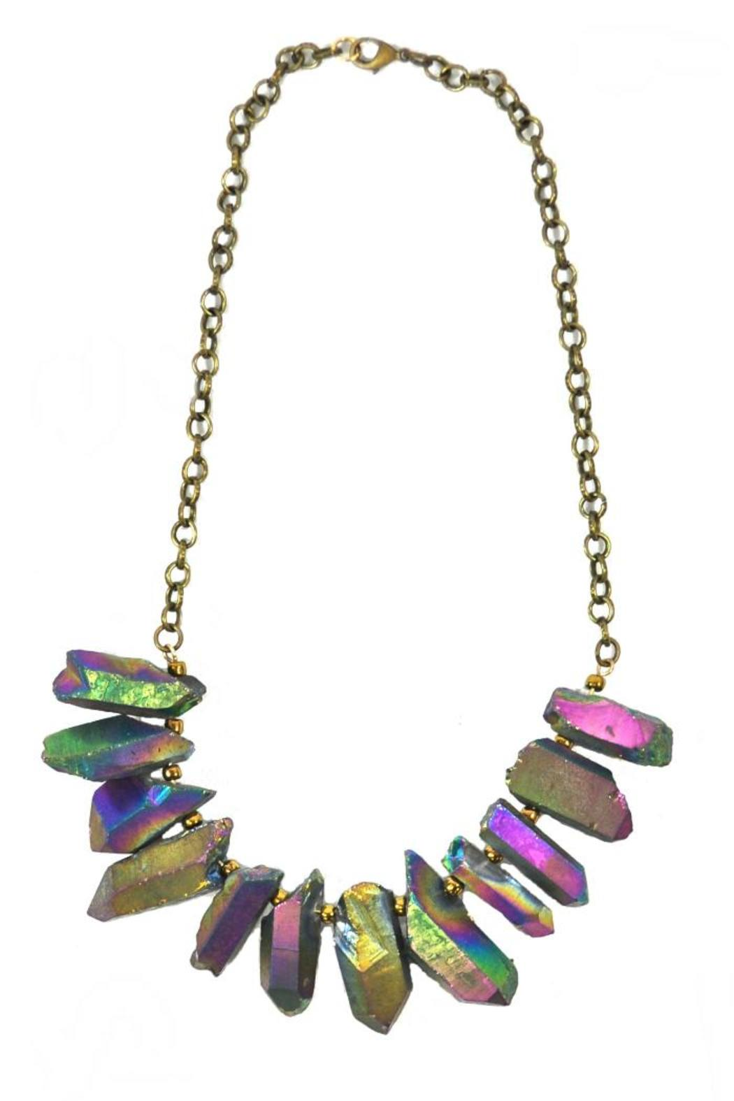 Minx Rainbow Quartz Necklace - Main Image