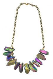 Minx Rainbow Quartz Necklace - Product Mini Image