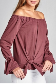 Minx Red Bean Sweater - Side cropped