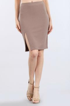 Shoptiques Product: Ribbed Pencil Skirt