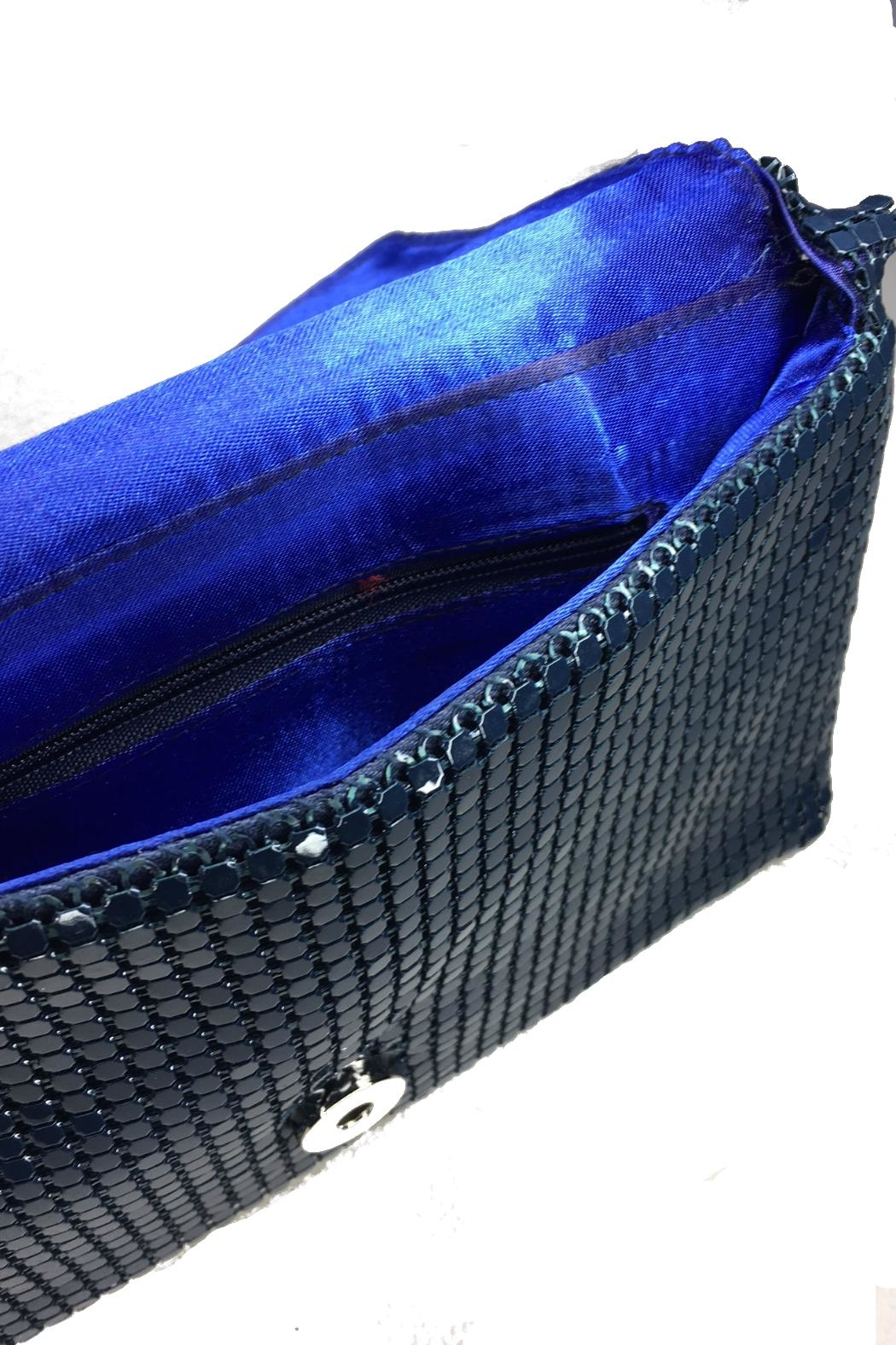 Minx Sequin Sparkle Clutch - Back Cropped Image