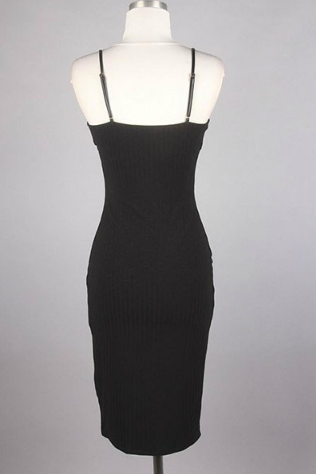 Minx Sexy Midi Lbd - Back Cropped Image