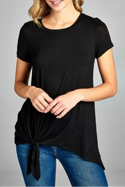 Minx Side Tie Tee - Front cropped