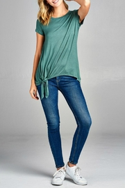 Minx Side Tie Tee - Back cropped