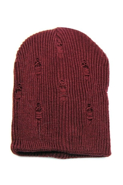 Shoptiques Product: Slouch Distressed Beanie