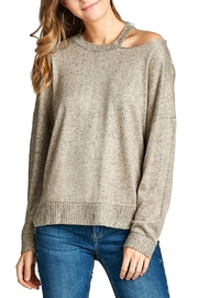 Minx Soft Oatmeal Sweater - Product Mini Image