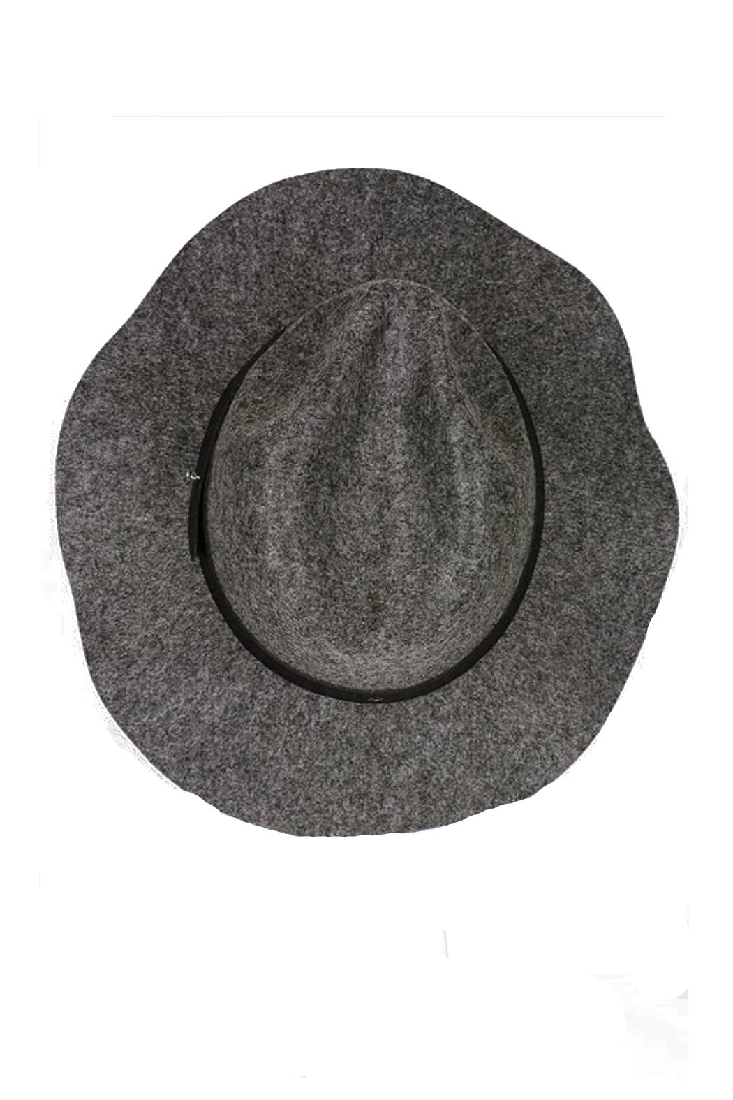 Minx Structured Grey Hat - Side Cropped Image