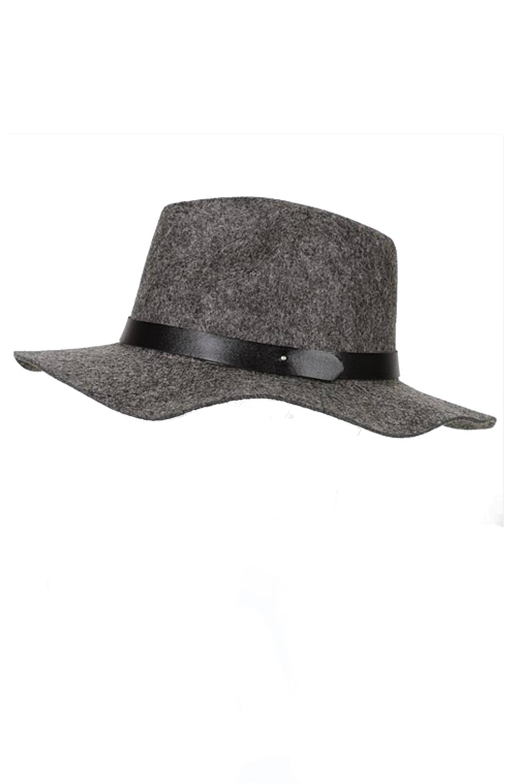 Minx Structured Grey Hat - Main Image