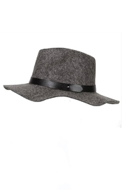 Minx Structured Grey Hat - Front cropped