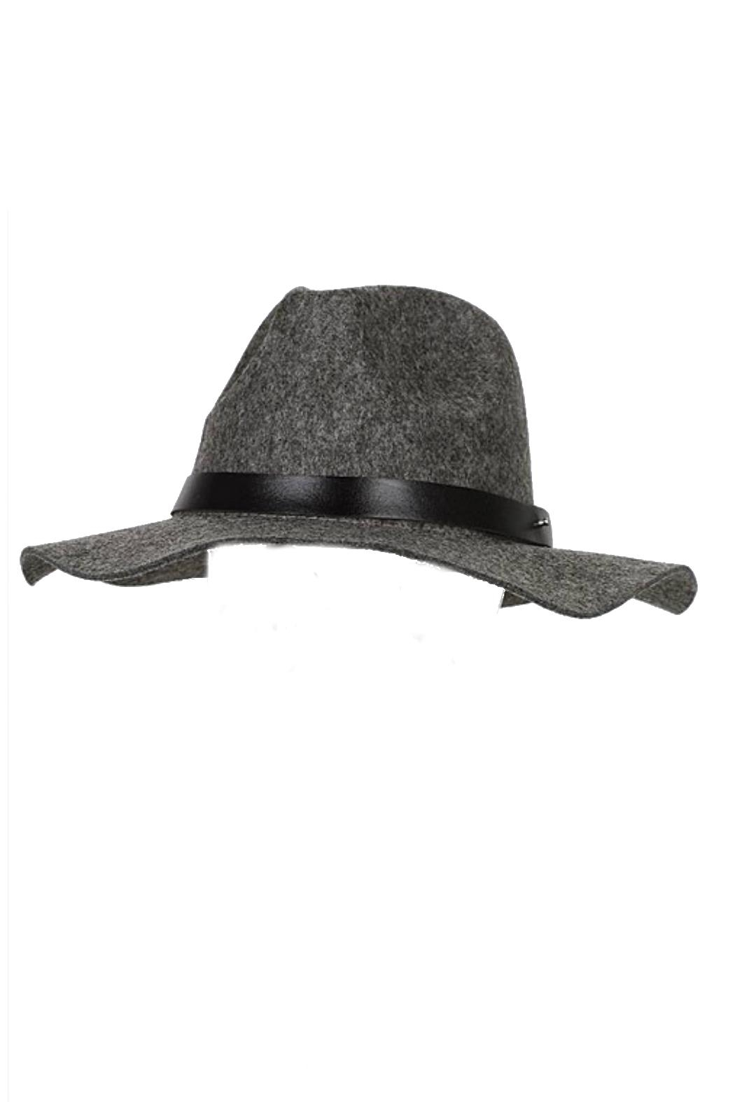 Minx Structured Grey Hat - Front Full Image