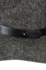 Minx Structured Grey Hat - Back cropped