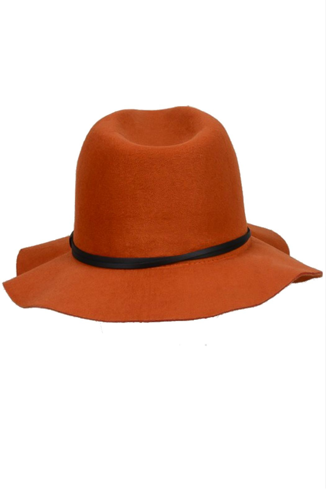 Minx Structured Rust Hat - Side Cropped Image