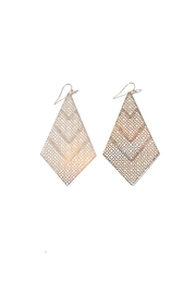 Minx Talia Filigree Earring - Front cropped