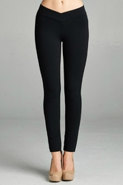 Minx Thick Ponte Pants - Front cropped