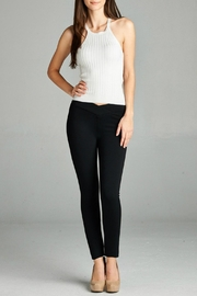 Minx Thick Ponte Pants - Front full body