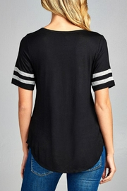 Minx Two Striped Tee - Front full body