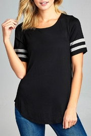 Minx Two Striped Tee - Product Mini Image